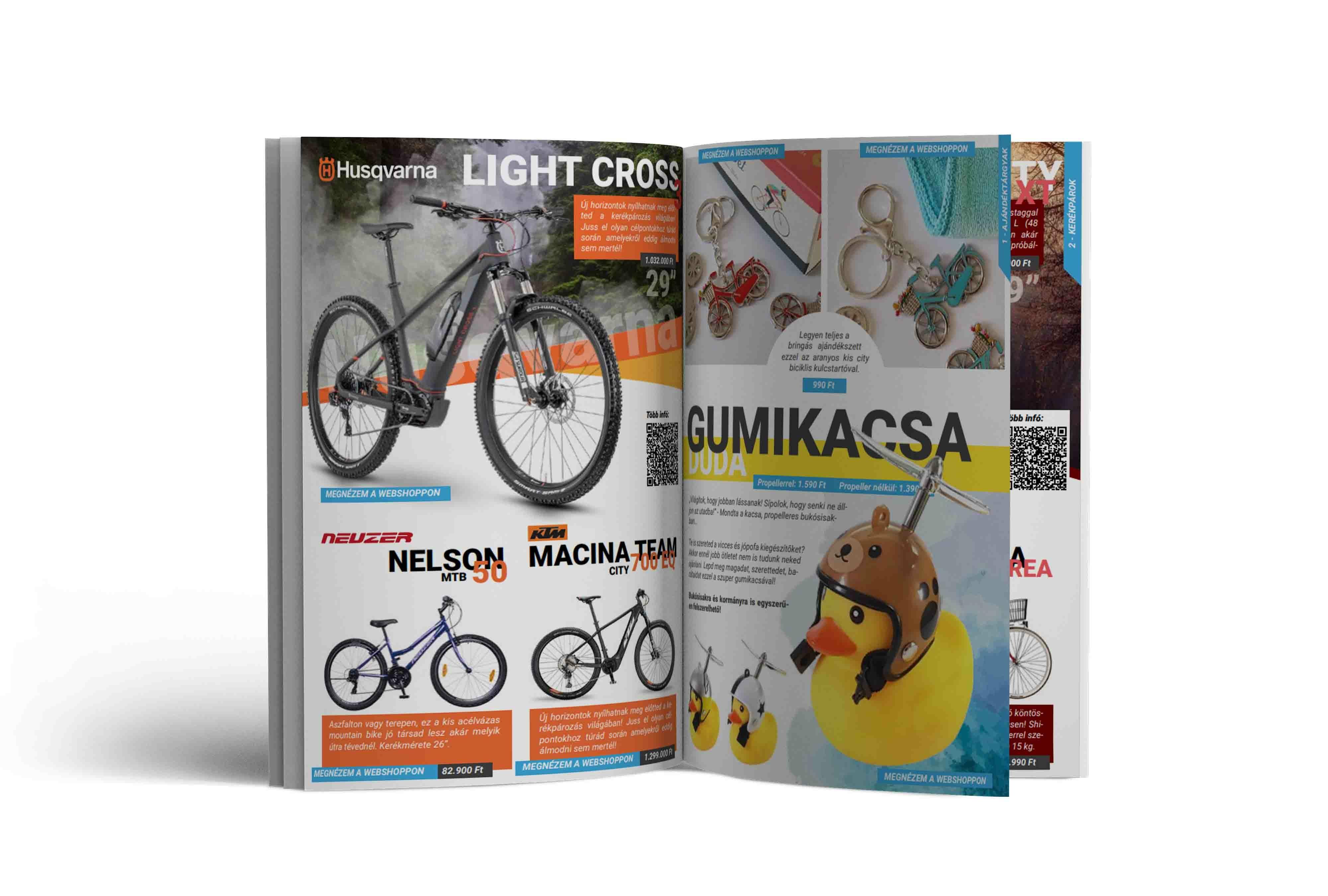 Bikegift.hu katalógus 2021 Május