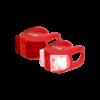 Kellys twin set lámpa Piros