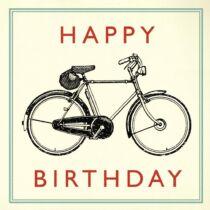 Kerékpáros Születésnapi üdvözlőkártya