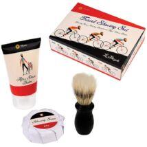 Utazó borotválkozó készlet
