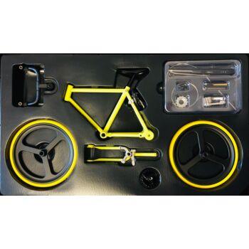 Sárga - Fekete - Sárga | Összerakható Országúti Kerékpár Makett