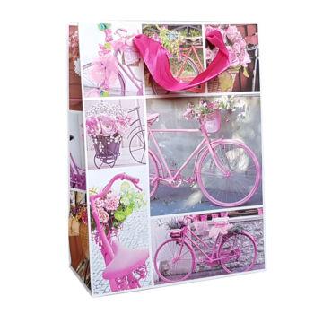 Kerékpáros Ajándéktáska Rózsaszín Biciklik