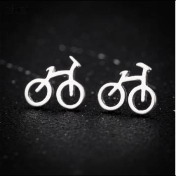 Kerékpáros fülbevaló