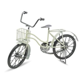 Fehér Fém Kerékpár Modell