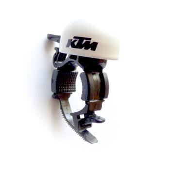 KTM csengő fehér