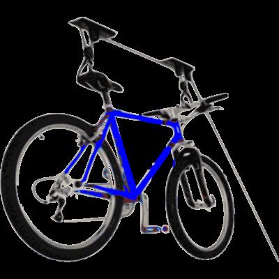 Kerékpár tartó lakásba