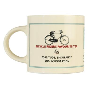 Retro, vintage Le Bicycle bicycle riders tea bögre
