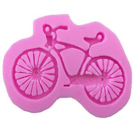 Kerékpáros jégkocka, sütemény, szappan készítő sütő forma