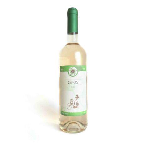"""Fehér félszáraz  28""""-as Zengő bor Takács Zsolt Pincészetéből"""