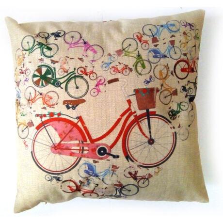 Szívecskés kerékpár minta