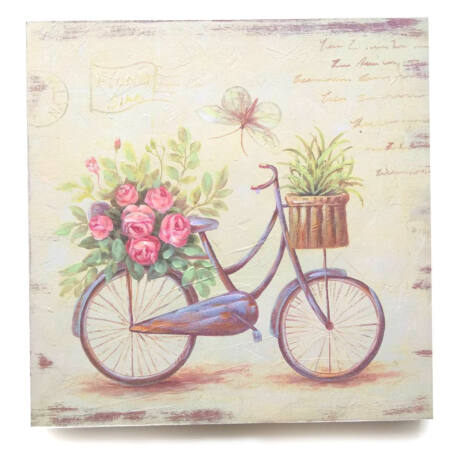 Biciklis falikép