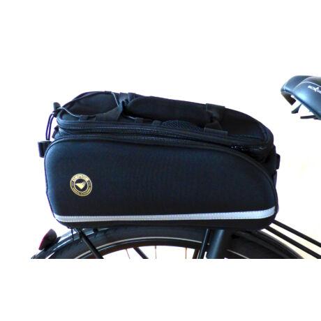 csomagtartó táska (összecsukva)