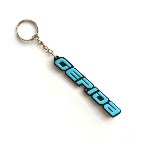 Gepida kulcstartó kék színben