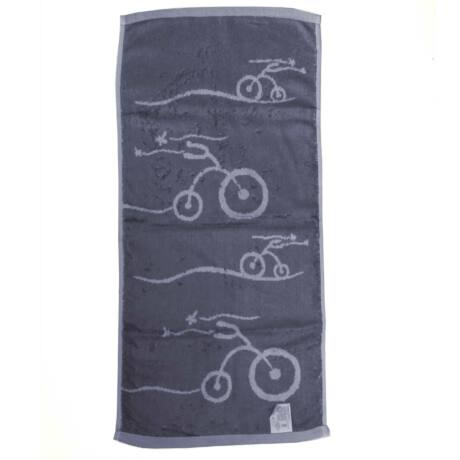 Kerékpáros konyhai törülköző kék