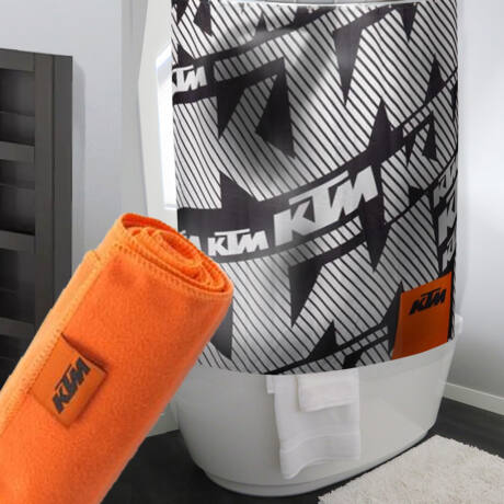 KTM bathroom ajándékcsomag