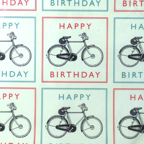 Kerékpáros csomagolópapír