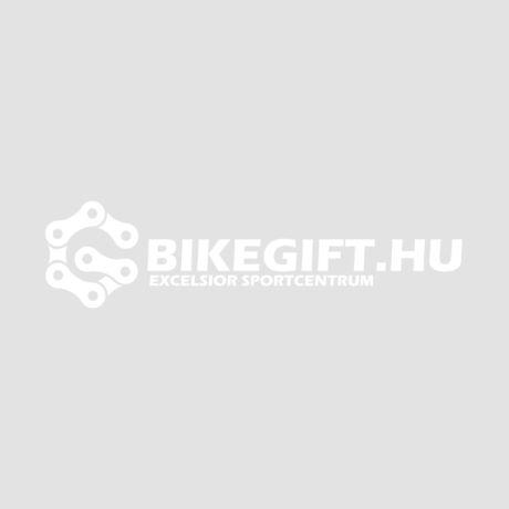 Kézzel készített kerékpáros medál sárga színben nagy