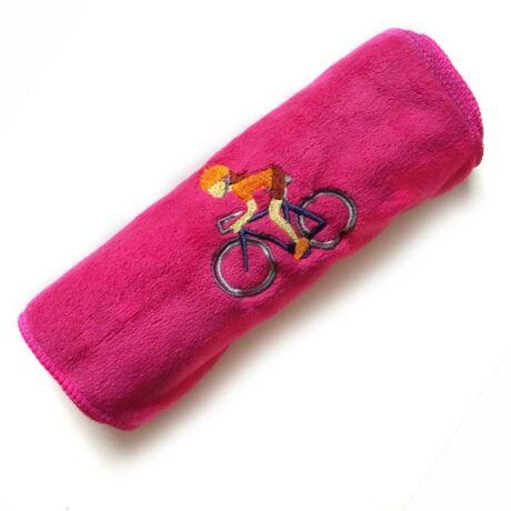Pink kerékpáros sport törülköző