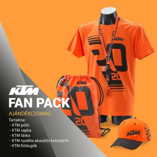 KTM FAN PACK ajándékcsomag