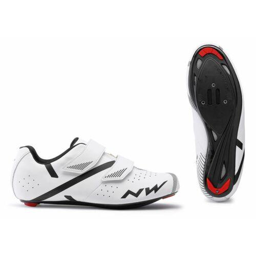 NORTHWAVE Jet 2 kerékpáros cipő   Fehér