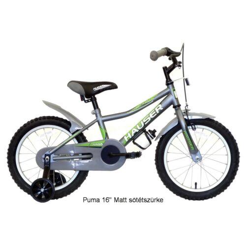 """Hauser Puma 16"""" Szürke gyerek kerékpár"""