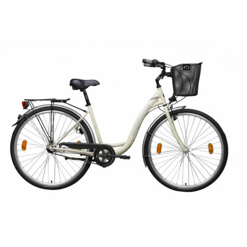 Gepida Reptila 100 világosbarna, női városi kerékpár