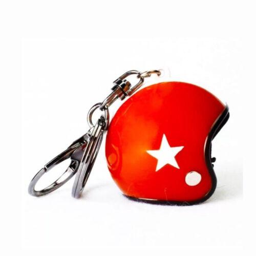 Bukósisak kulcstartó - Piros
