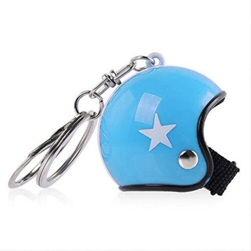 Bukósisak kulcstartó - Kék