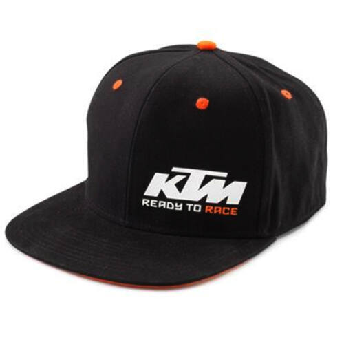 KTM TEAM SNAPBACK baseball sapka - fekete