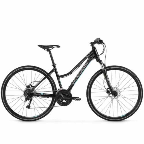 KROSS Evado 5.0 Női cross-trekking kerékpár | fekete - világoskék