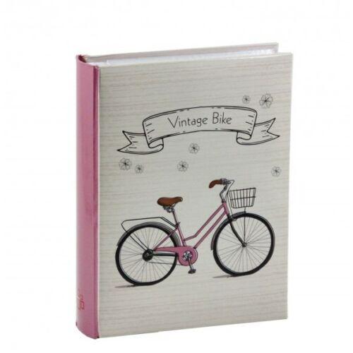Fényképalbum biciklis 200db 15x10cm-es képhez   Rózsaszín