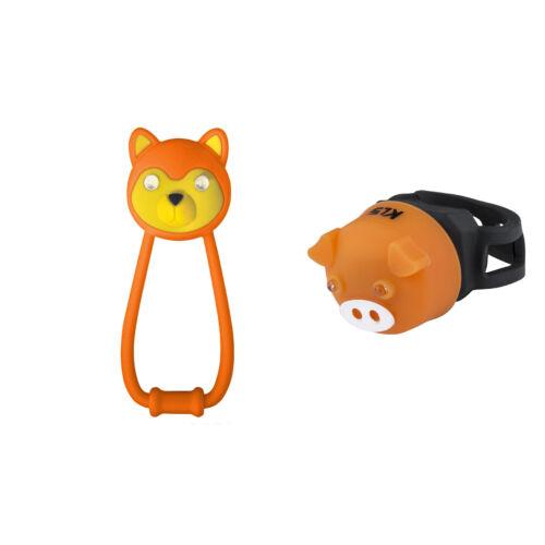 KLS ANIMAL Lámpaszett | Narancs-Narancs