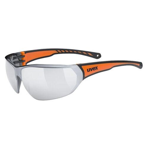 UVEX Sportstyle 204 Szemüveg | Fekete - Narancs