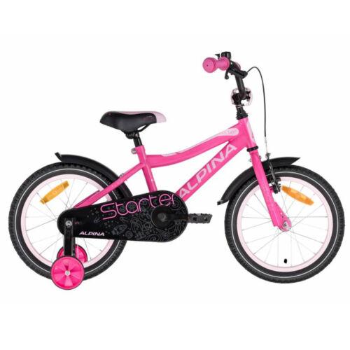 """Alpina STARTER 16"""" Bmx Gyerek Kerékpár Rózsaszín"""