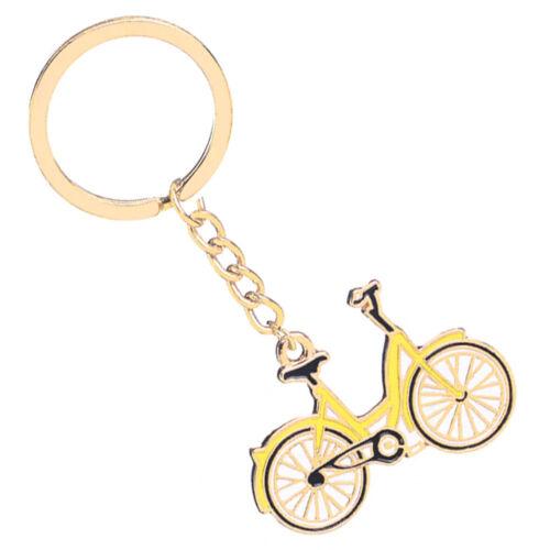 Legyen teljes a bringás ajándékszett ezzel az aranyos kis city biciklis kulcstartóval. Arany színű alapon festett, dombtornyomot mintával.