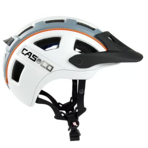 Casco MTB.E 2 bukósisak | Fehér - Szürke - Narancs