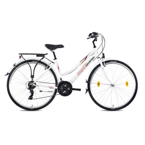 Csepel Landrider 28 Trekking kerékpár | Fehér