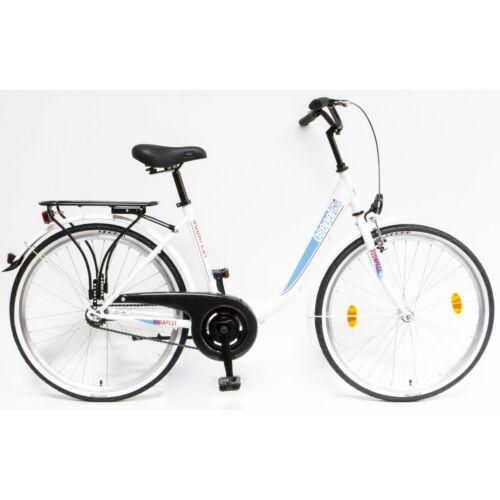 KRP BUDAPEST B 26/18 7SP 16 piros kerékpár