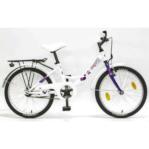 """Csepel Hawaii 20"""" gyerek kerékpár   Lila csillagos"""