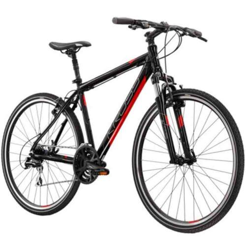 KROSS Evado 3.0 cross-trekking kerékpár   fekete- Piros