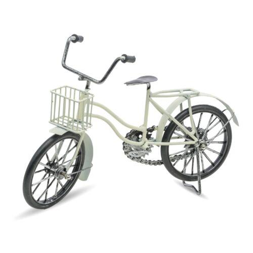 Kerékpár Modell fém fehér
