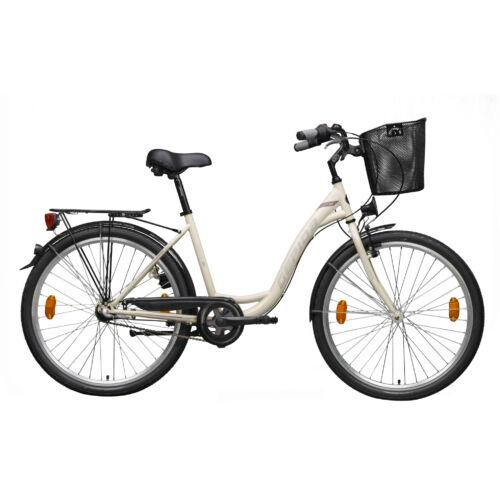 Gepida Reptila 50 Bézs, női városi kerékpár