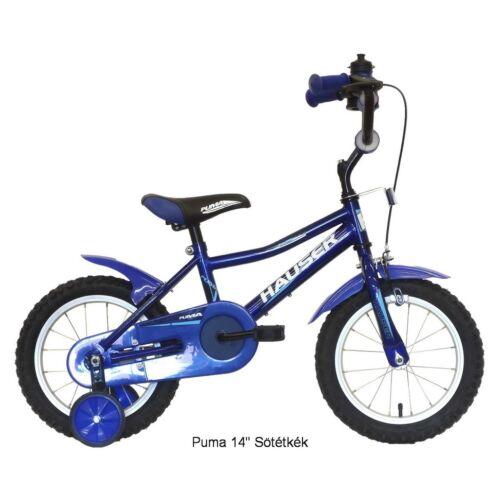 """Hauser Puma 14"""" Kék gyerek kerékpár"""