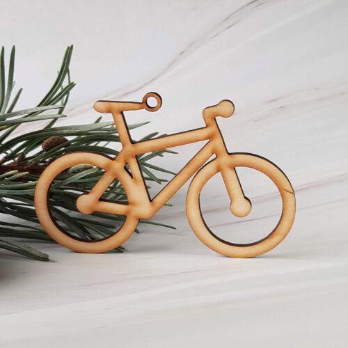 MTB kerékpár - fa karácsonyfadísz