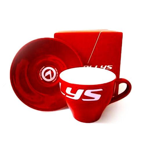 Kellys kávés csésze alátéttel díszdobozban