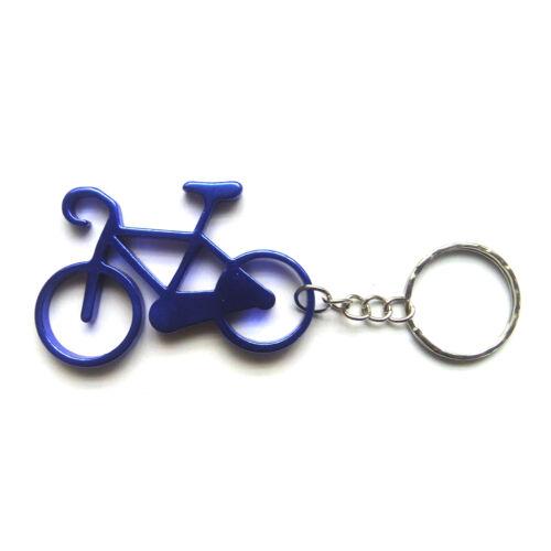 Kék kerékpár kulcsatartó