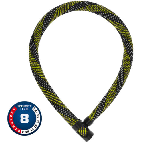 ABUS IVERA Chain 7210 Lánclakat   Racing Yellow