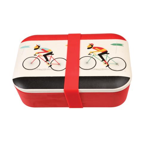 Le Bicycle  bambusz uzsonnás doboz