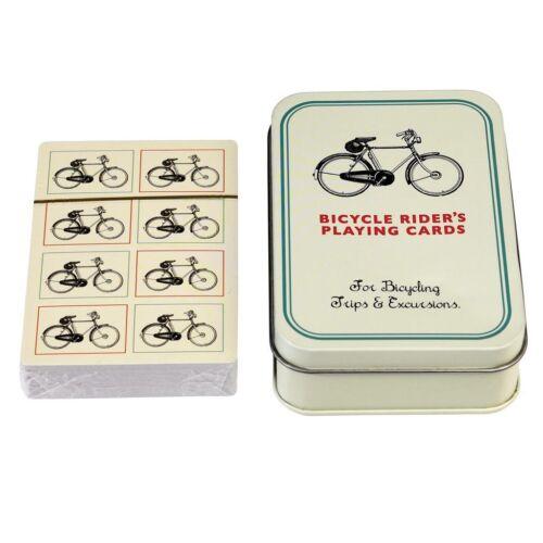 Kerékpáros francia kártya alu díszdobozban