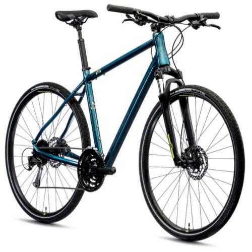 MERIDA Crossway 100 férfi crosstrekking kerékpár - kék